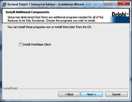 Install Borland Delphi 7 di Windows 7 | Catatan Eko