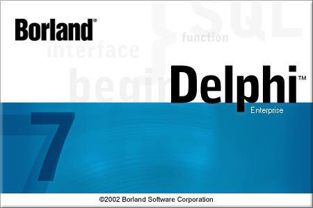 Dasar pemograman Borland Delphi 7